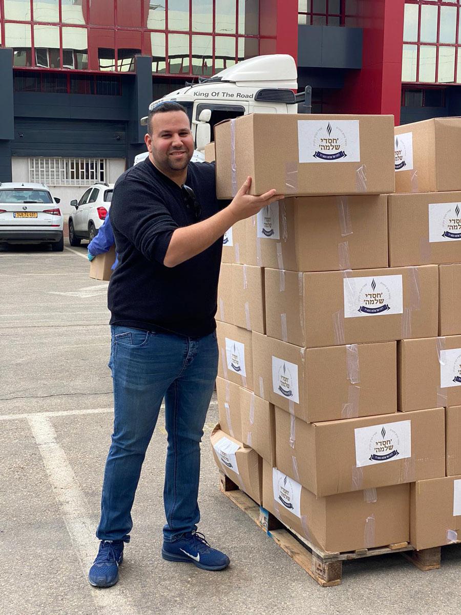 חלוקת מזון לנזקקים בפסח – עמותת חסדי שלמה